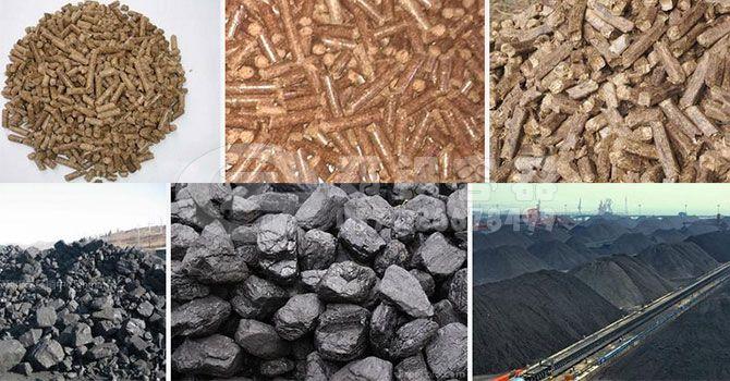 生物质颗粒燃料与普通煤炭的区别
