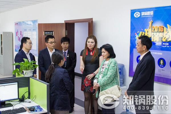 泰国考察团来访—祝贺郑锅进入泰国政府采购名录!
